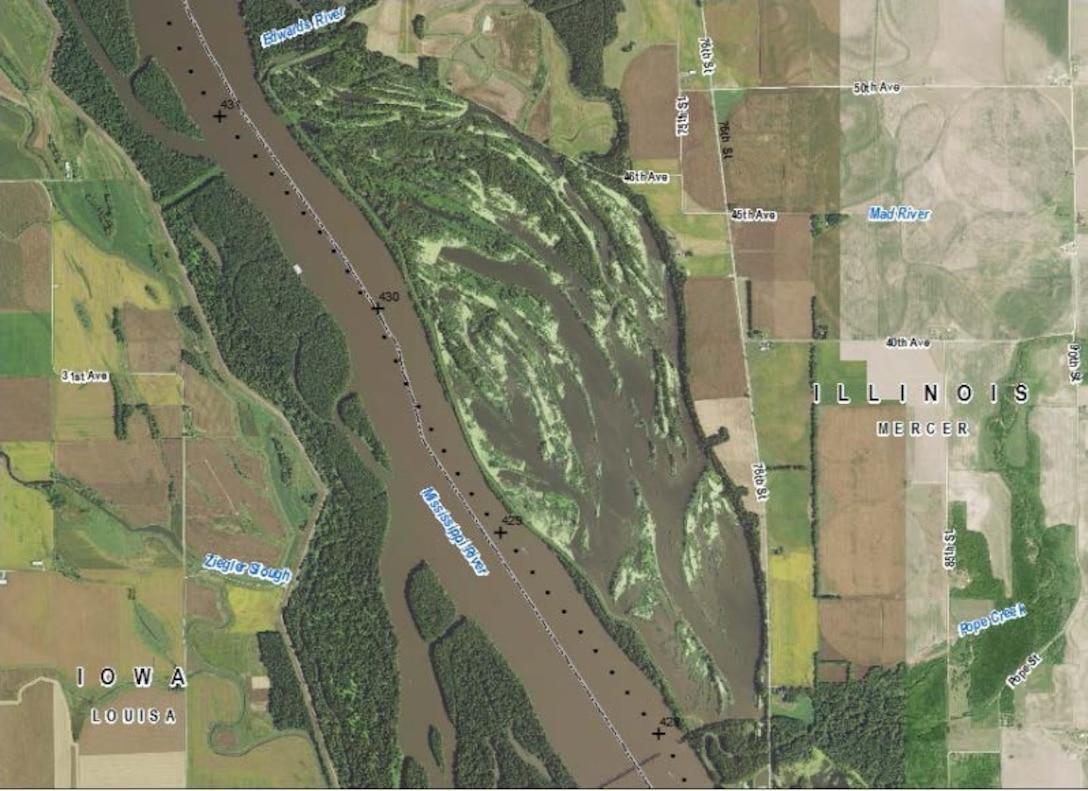 Keithsburg Division HREP - Pool 18, Upper Mississippi River Miles 431- 428, Mercer County, Illinois.