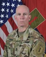 Command Sergeant Major Craig Bishop, Command Sergeant Major, 1st Infantry Division