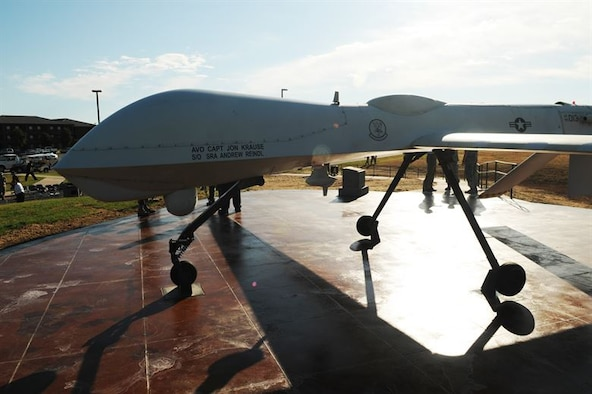 The RQ-1 entered the USAF inventory in 1994 and was deployed for the first time over Bosnia in 1995. In 2002, the Predator was armed with AGM-114 Hellfire missiles, re-designated the MQ-1, and given interdiction and armed reconnaissance roles.