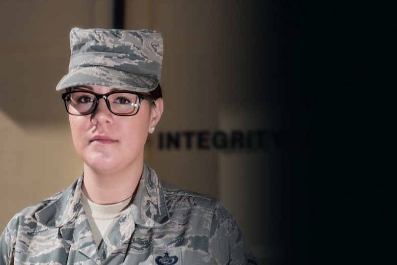Excellence In All We Do: Staff Sgt. Danielle Hawk