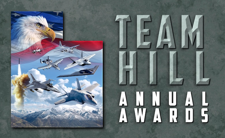 Team Hill Annual Awards (U.S. Air Force graphic by Kent Bingham)