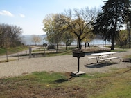 An overview of Stockdale Campground at Tuttle Creek Lake. New procedures call for campers to make registration and payment online or by phone only. Please see the full release for details.