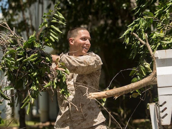 US Marines, ADF service members aid community during Tropical Cyclone Marcus aftermath