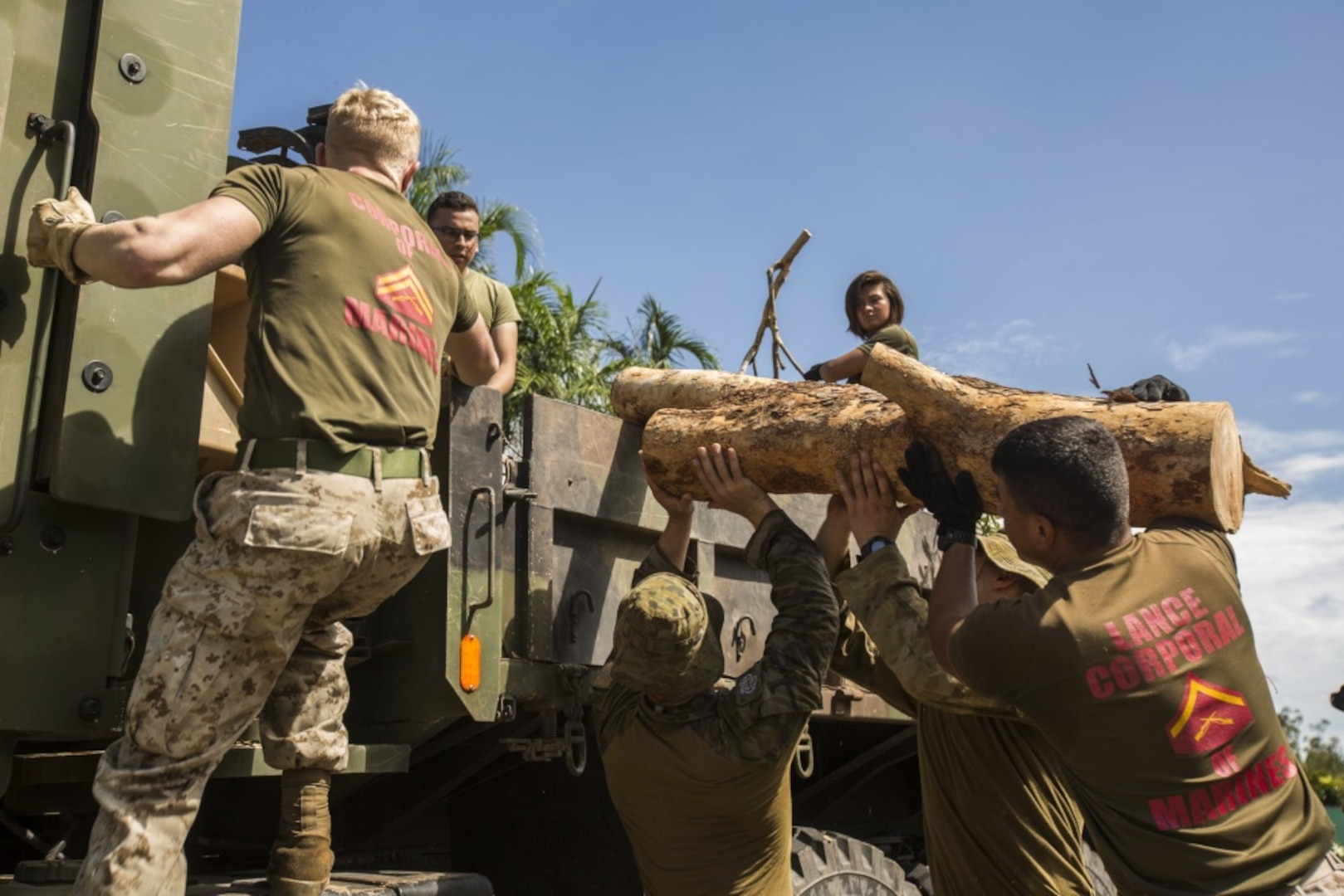US Marines, ADF aid to Cyclone Marcus aftermath