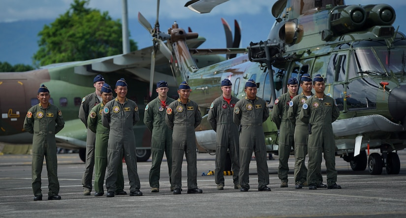 U.S., Indonesian air forces conclude exercise Cope West 2018