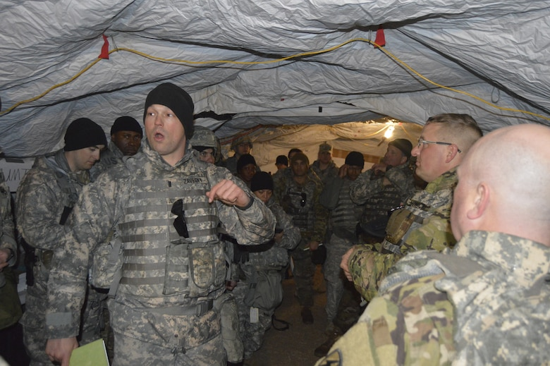 Army Reserve Soldiers push through challenges during training