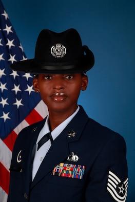 Former Tech. Sgt. now Master Sgt. Faith Wells (U.S. Air Force photo)