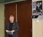 First female Distribution commander honored with newly named Doornink Executive Conference Room during Women's History month event