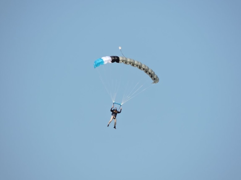 509th CES Airman's skydiving passion