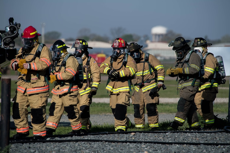 Teaming up, fighting fires