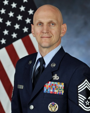 Official Photo CMSgt. Donald Cleveland