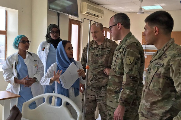 Kentucky medical team shares knowledge in Djibouti