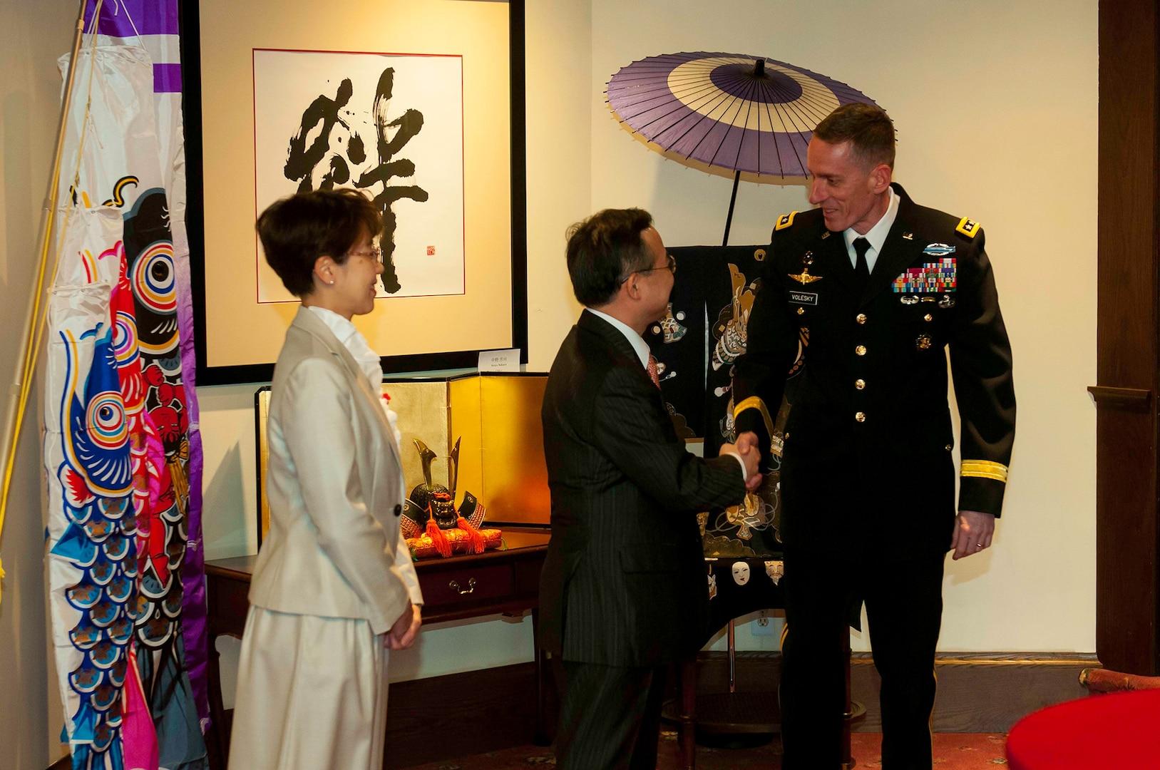 JBLM Senior leaders meet with Consulate General of Japan in Seattle