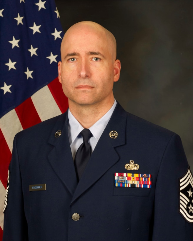 CMSgt. Waggoner official photo