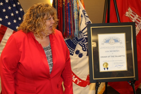 Lisa Metheney Order of the Palmetto