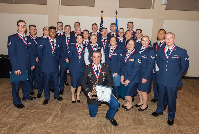 Wrick is the first Soldier to attend the Air Force ALS class and was awarded the John L. Levitow award, the highest award for enlisted Professional Military Education in the Air Force. (U.S. Air Force photo by Senior Airman Stephen G. Eigel)