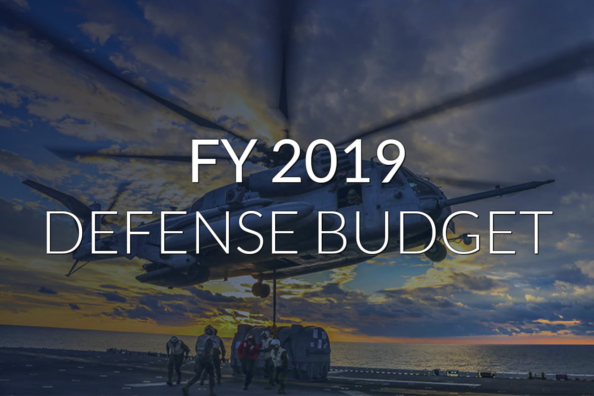 FY 2019 Defense Budget