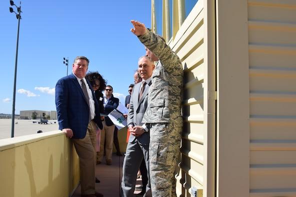 EPA Director and Congressman Calvert visit March ARB