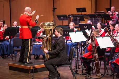 """Marine Band Concert: For """"The President's Own"""""""