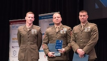 Security Battalion's Criminal Investigation Division (CID) was presented investigative merit awards for their work in OPERATION PURPLE HARBOR.   A Commandants Directive on Social Media Conduct. The Marines and Civilain's of CID invested countless hours on this mission and were recognized at the 32nd Annual Prince William Valor Awards Ceremony.