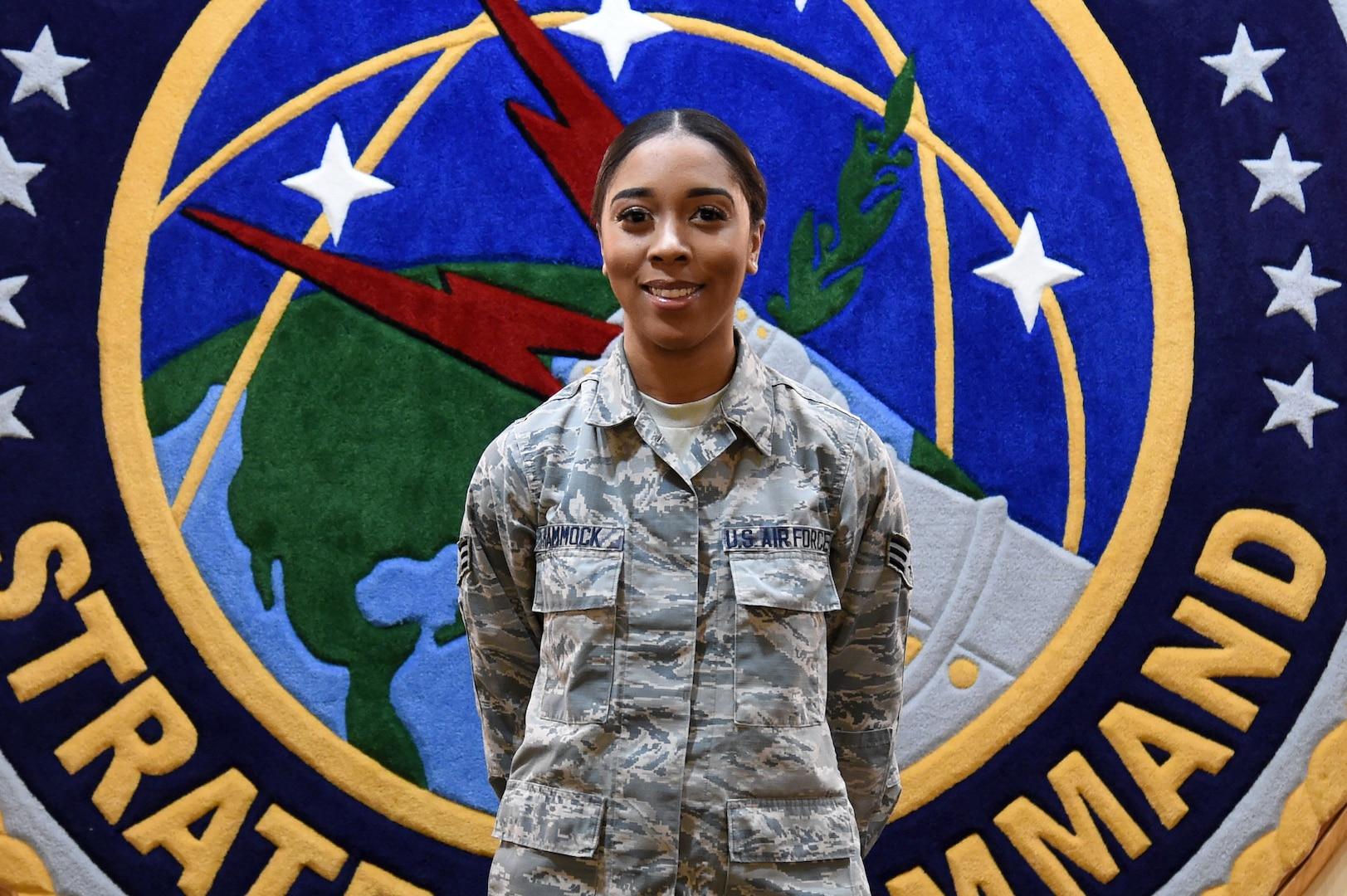U.S. Air Force Senior Airman Rebecca Hammock, Enlisted Corps Spotlight for May