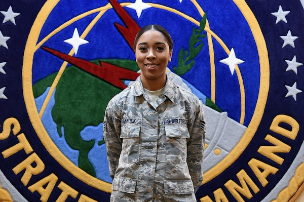U.S. Air Force Senior Airman Rebecca Hammock, Enlisted Corps Spotlight for May