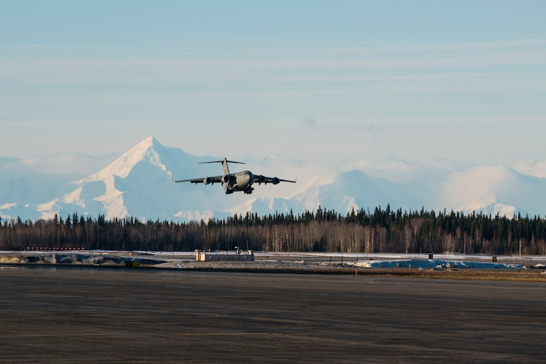 A civic leader tour hosted by the Chief of Staff of the Air Force visited Eielson Air Force Base April 28, 2018;this was the final stop in a broad tour of the Pacific Air Forces area of responsibility that included visits to Guam, Hawaii, Korea and Japan.