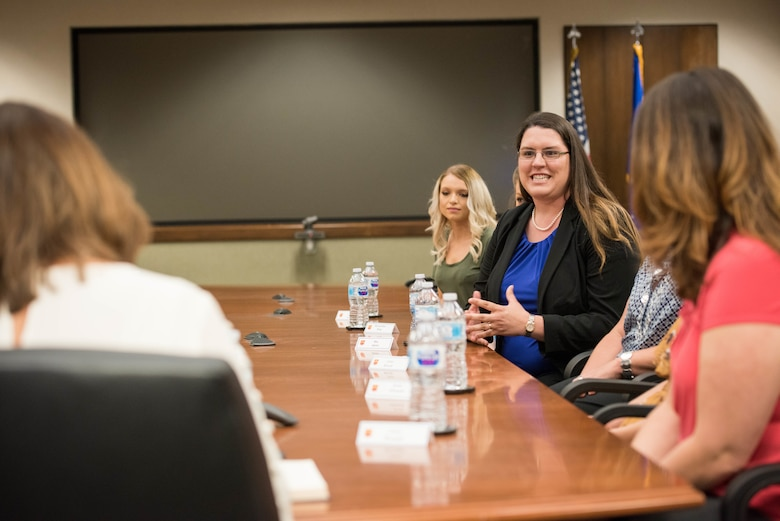 Second Lady Karen Pence speaks to military spouses at Luke AFB