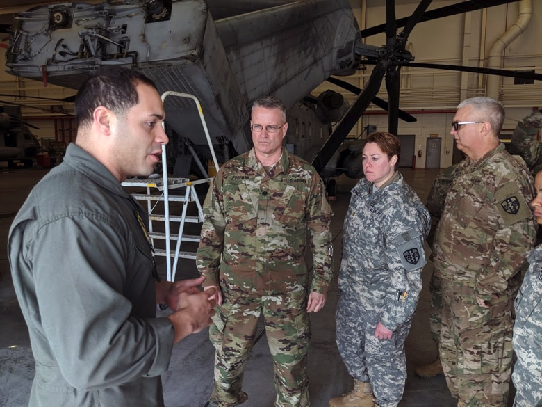 Army Reserve medics train with Marine aviators