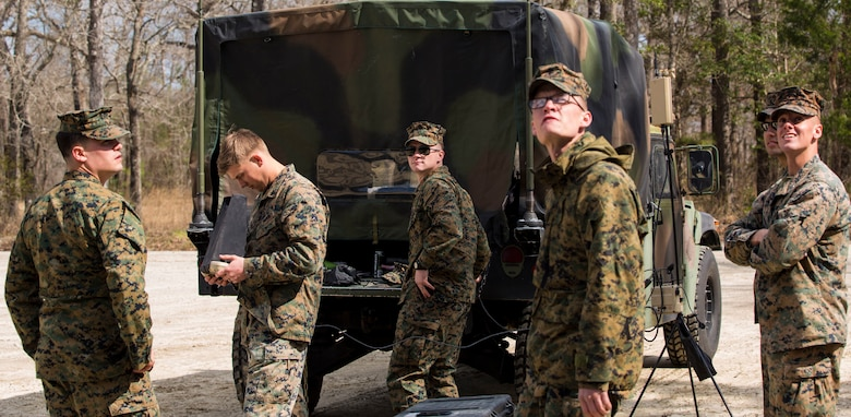 Help from above: Marines conduct UAV training