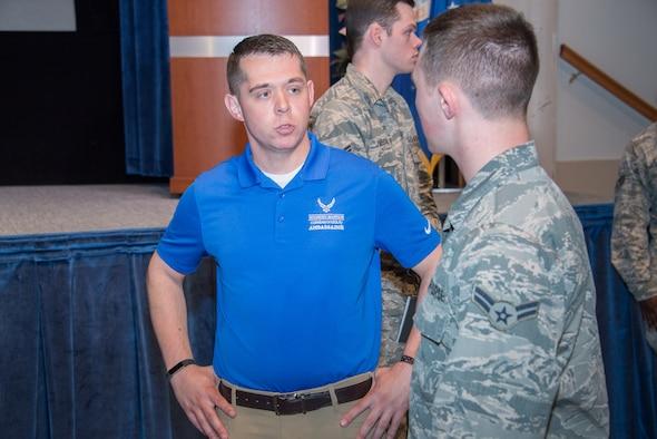 Survivor of 2011 Frankfurt airport shooting speaks with Maxwell junior enlisted