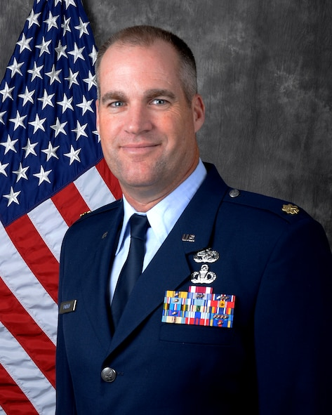 Maj. David Borden is the 87th Aerial Port Squadron commander.