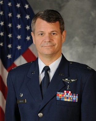 Col. John Langell, official photo, U.S. Air Force