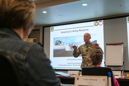 New Army Reserve Structure: Region Focus
