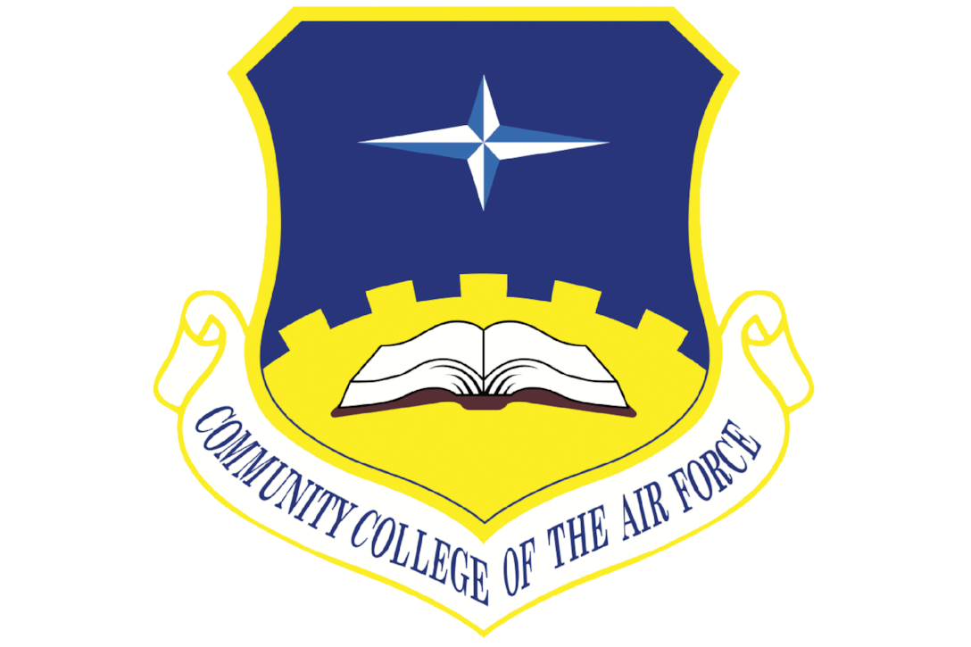 34 Airmen from the 514th Air Mobility Wing received degrees from the Community College of the Air Force here on April 26.
