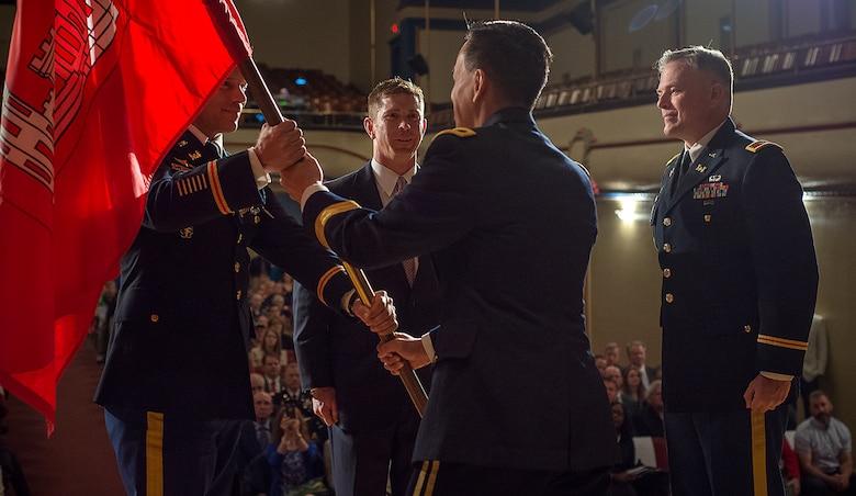 Huntington District Relinquishment of Command Ceremony