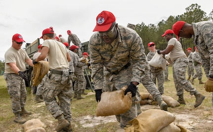 560th RED HORSE Squadron field training