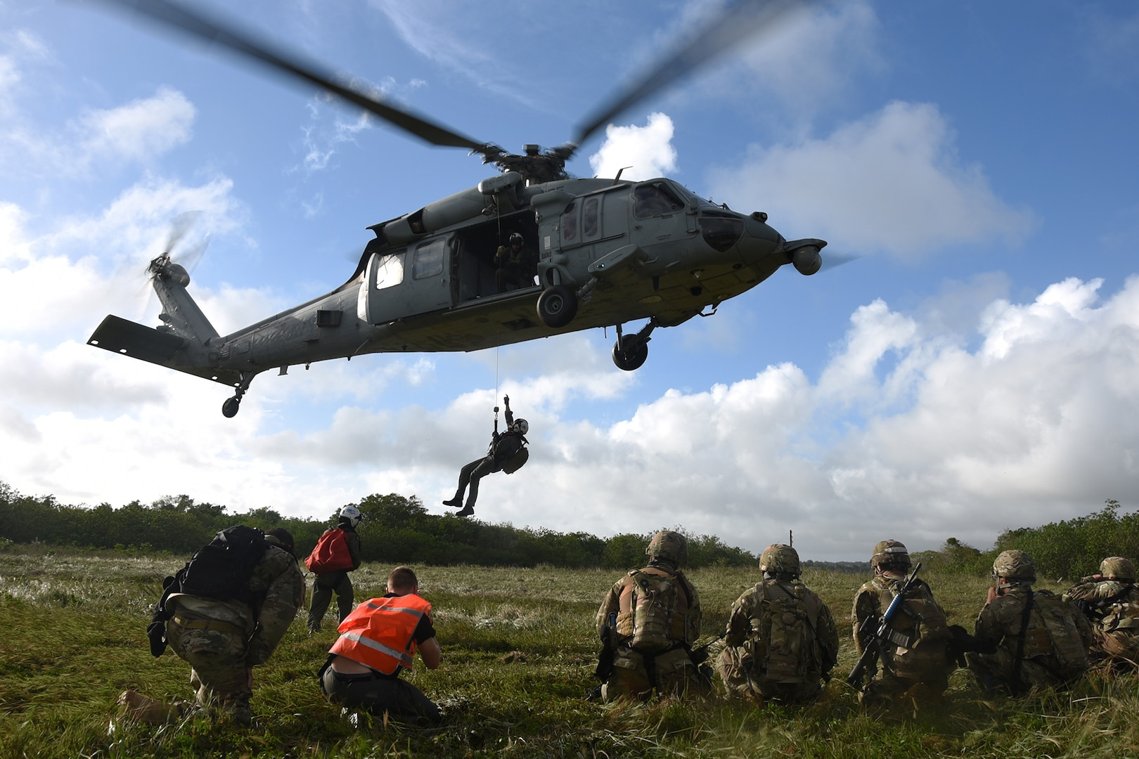 Team Andersen completes Joint Casualty Evacuation training on Guam