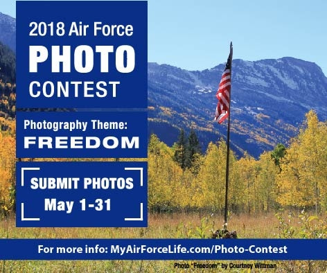 "2018 photo contest theme ""Freedom"""
