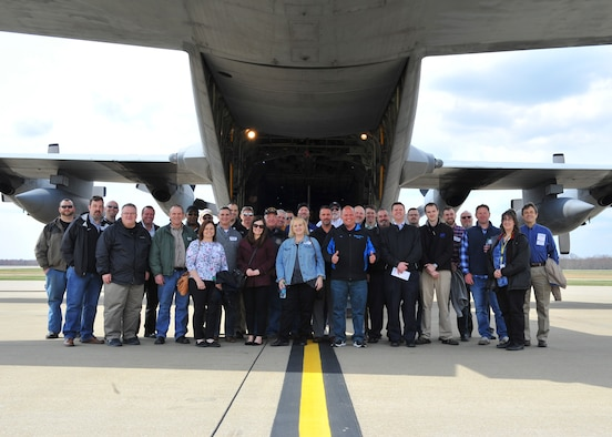 Youngstown Air Reserve Station hosted a civic leader flight for 29 employers and two Employer Support of the Guard and Reserve on April 27, 2018.