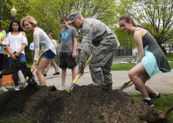 Hanscom observes National Arbor Day
