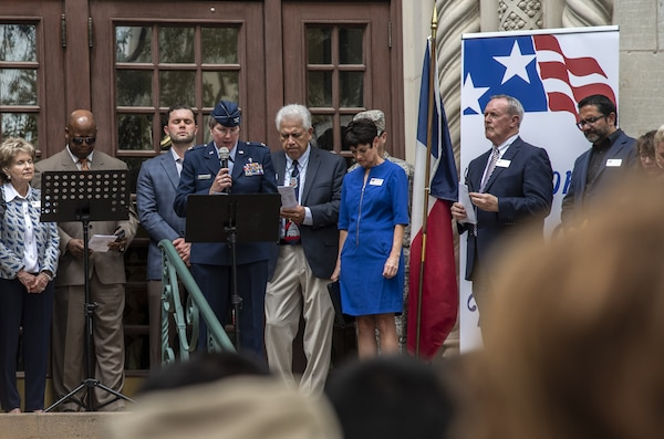 JBSA Senior Chaplain participates during National Day of Prayer