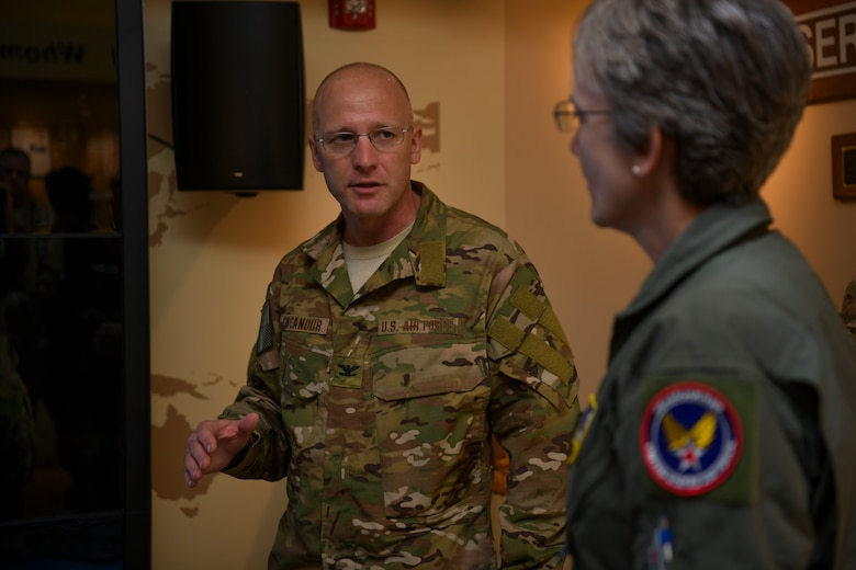SECAF immersed in ST mission