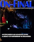 The May 2018 edition of the On-final, the official magazine of the 507th Air Refueling Wing located at Tinker Air Force Base, Okla. (U.S. Air Force image/Tech. Sgt. Samantha Mathison)