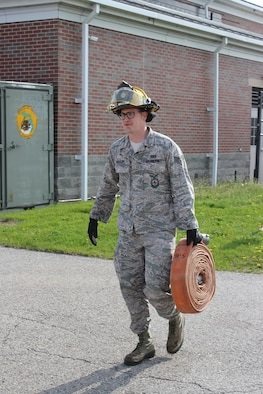 Training at Selfridge Air National Guard Base, Mich.