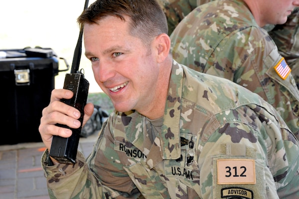 Florida Officer First Guardsman To Complete Sfab Training National
