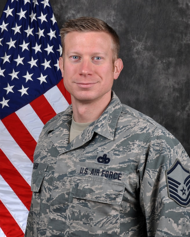 Senior Master Sgt. Christian Oliver, 445th Logistics Readiness Squadron, is the 445th Airlift Wing Senior NCO of the Quarter, first quarter.