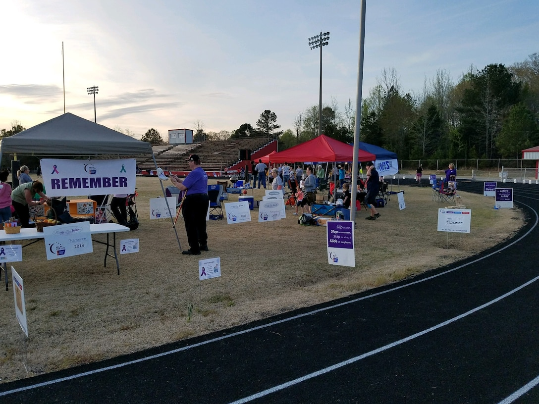 AEDC Team members join in supporting Coffee County Relay For Life