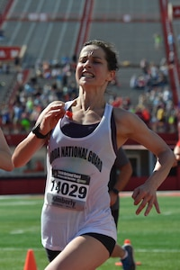 Florida National Guard Capt. Kimberly Quinn of Gainesville, was named the overall female National Guard winner of the Lincoln National Guard Marathon with an unofficial time of 3:11:29.