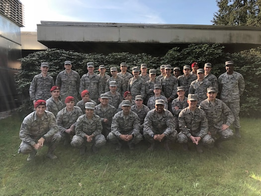 Congratulations to the Airmen who graduated from the Julius A. Kolb Airman Leadership School, May 3, 2018, at Joint Base Lewis-McChord, Wash. (U.S. Air Force courtesy photo)